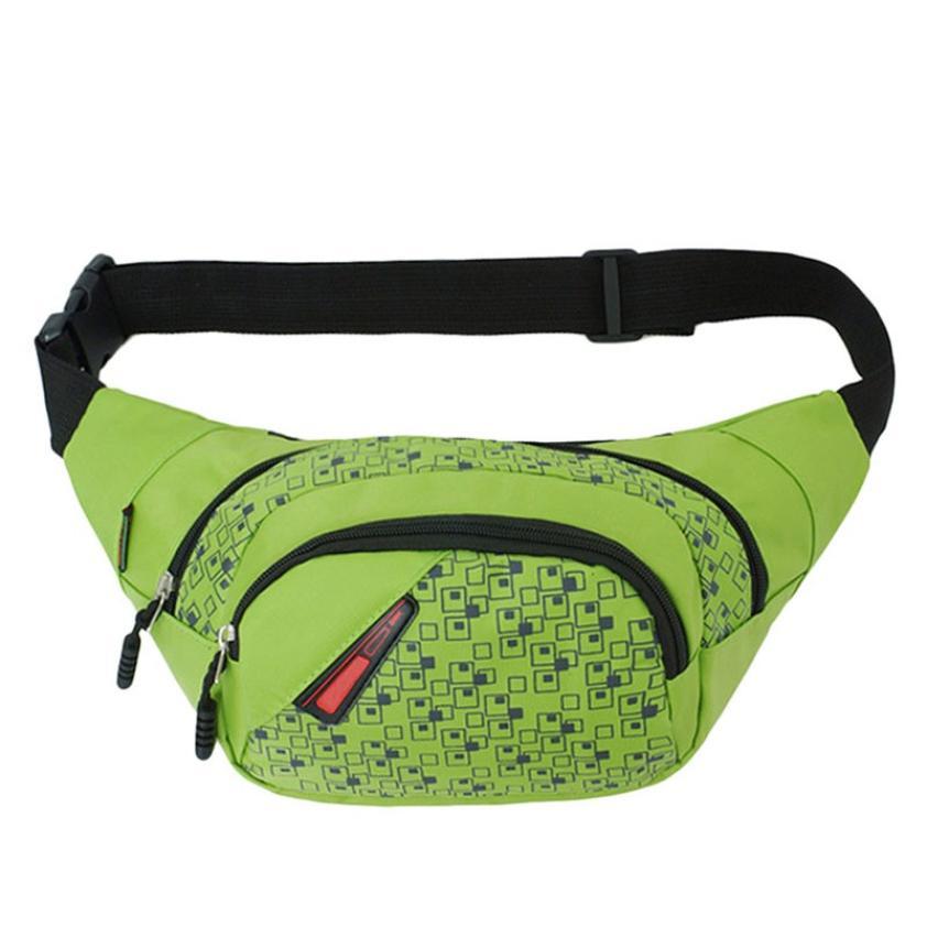 bolsa da cintura nylon sólida Formato : Travesseiro