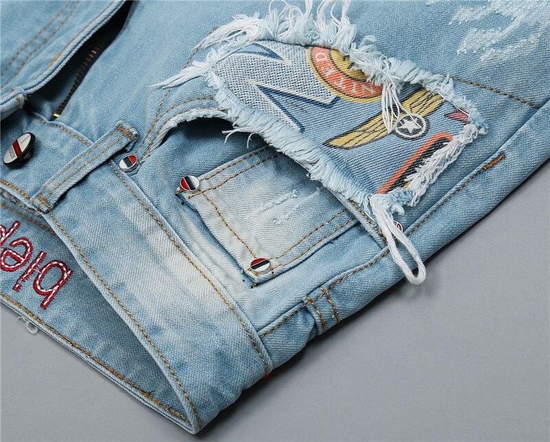 Rebitud teksased piltidega