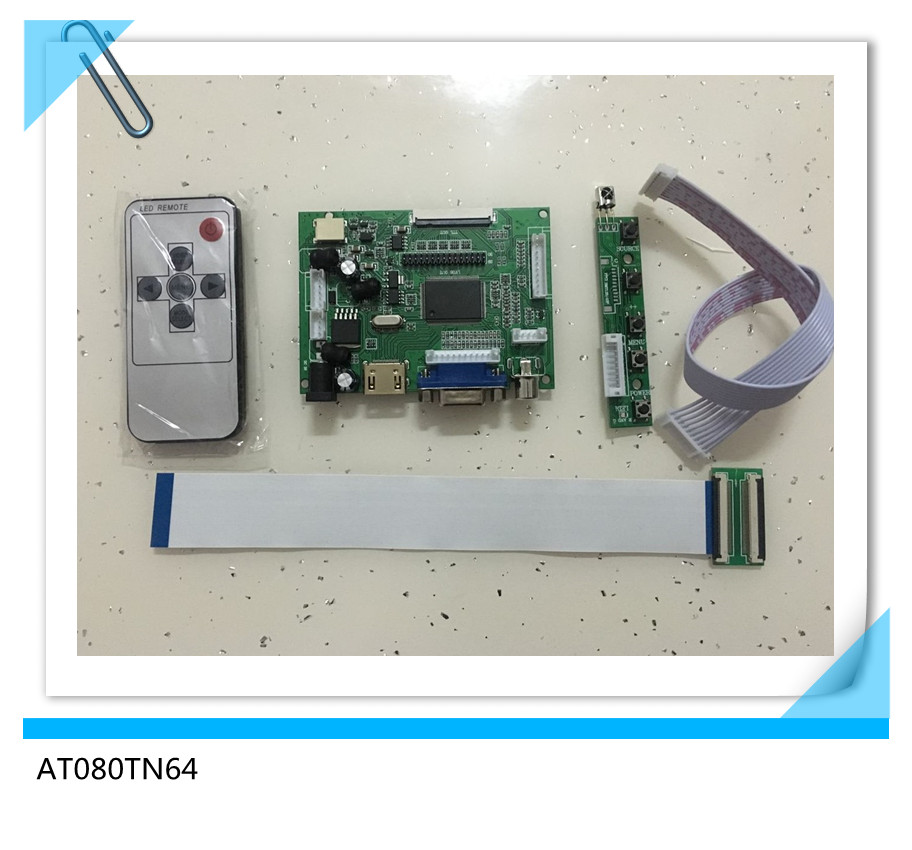 Back To Search Resultscomputer & Office Tablet Lcds & Panels Ambitious Hdmi Vga 2av 50pin Ttl Lvds Controller Board Module Monitoring Module Is Suitable For Lcd At080tn64 With Remote Control Street Price