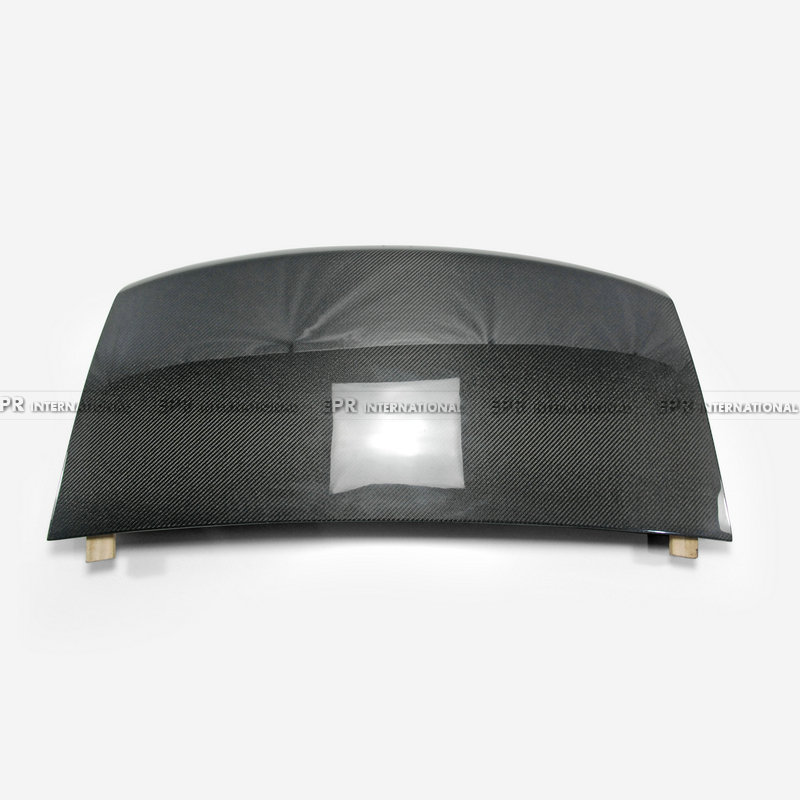 Carbon Fiber Trunk Racing Part For <font><b>Mazda</b></font> <font><b>MX5</b></font> Roaster Miata NC Glass Fiber/FRP <font><b>Rear</b></font> Trunk (Soft top only) Body Kit Tuning <font><b>MX5</b></font> image