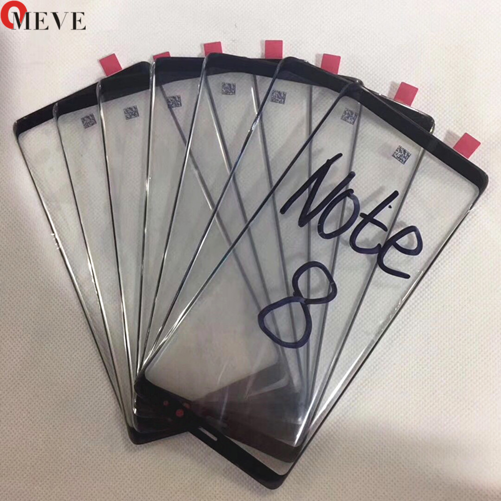5PCS/LOT Best Screen Touch Panel Outer Glass For Samsung Galaxy S8 Plus S9 Plus Note 8 Note 9 Front Glass Lens Replacement