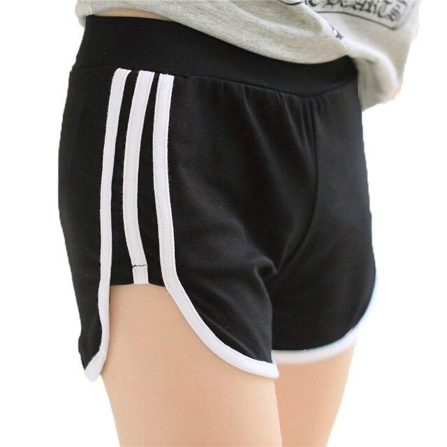 Cortos Mujeres libres del Envío 2017 Del Verano Cortocircuitos Ocasionales para Las Chicas de Moda de Algodón Sueltos Pantalones Cortos DK1005