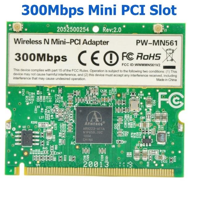 Pci Wlan Karte.Wtxup Für Atheros Ar9223 300 Mbps Mini Pci Wireless N Wifi Adapter Mini Pci Wlan Karte Für Acer Asus Dell Toshiba Ipc