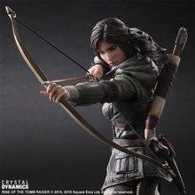 2017 Play Arts Tomb Raider 26cm Lara Croft Action Figure Toys
