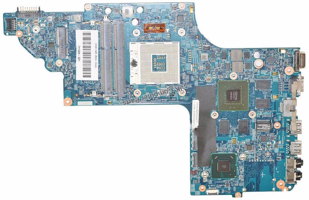 711509-501 for HP ENVY DV7T-7000 NOTEBOOK for HP DV7-7000 motherboard 711509-001 HM77 635M/2G 48.4ST10.031 7 100% Tested 682042 001 for hp dv7 7000 intel laptop motherboard for hp 682042 501 hm77 100