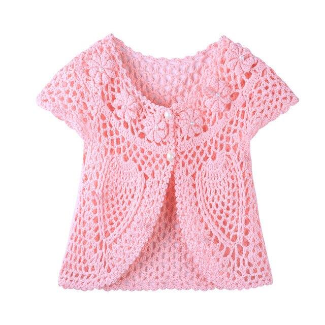 66b8c8b09 Cotton Cardigan For Girls Newborn Kids Baby Girl Sweater Child Baby ...