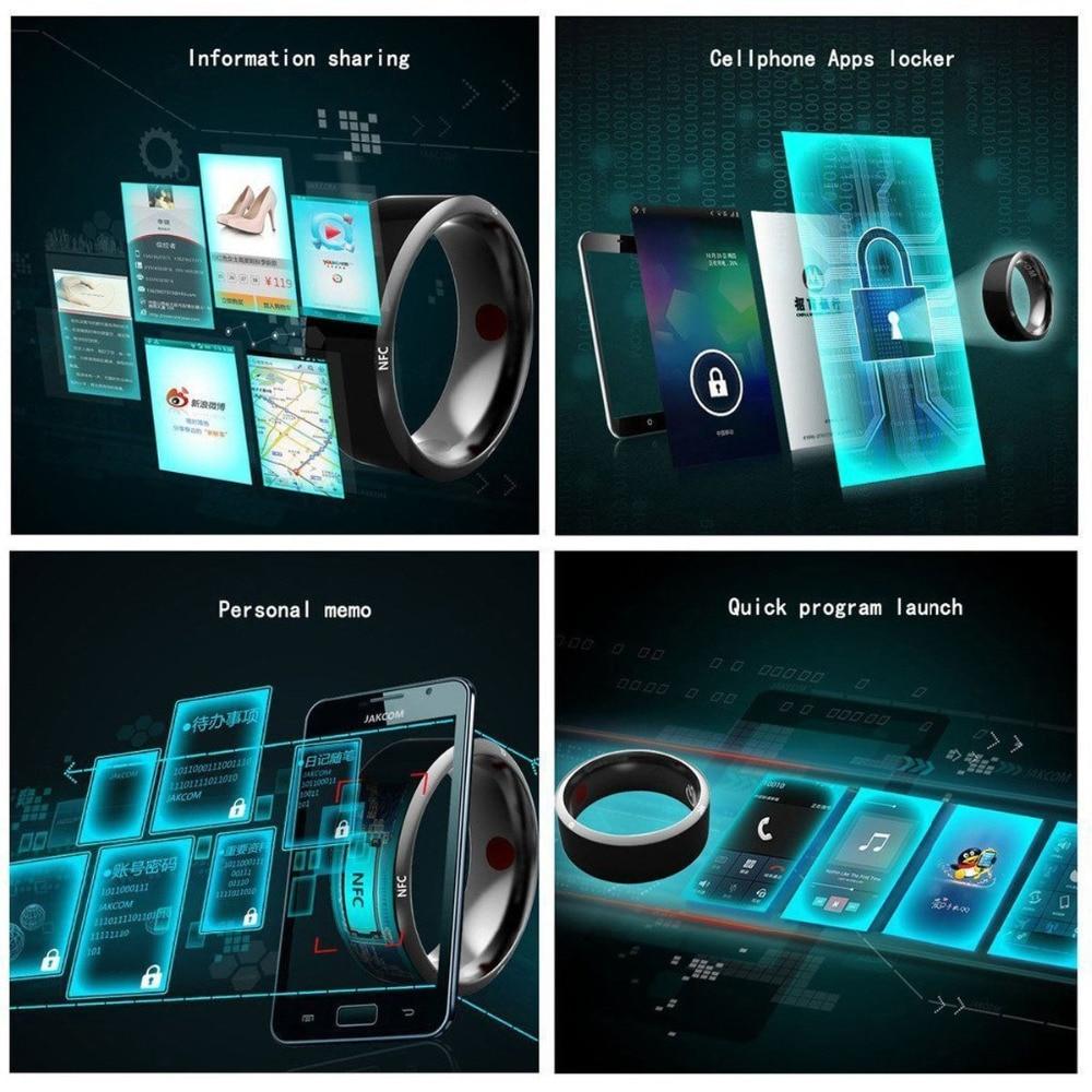 Image 3 - 2019 New Smart Ring NFC Wear Jakcom R3 New technology Magic Finger Smart NFC Ring For Android Windows NFC Mobile PhoneRings   -