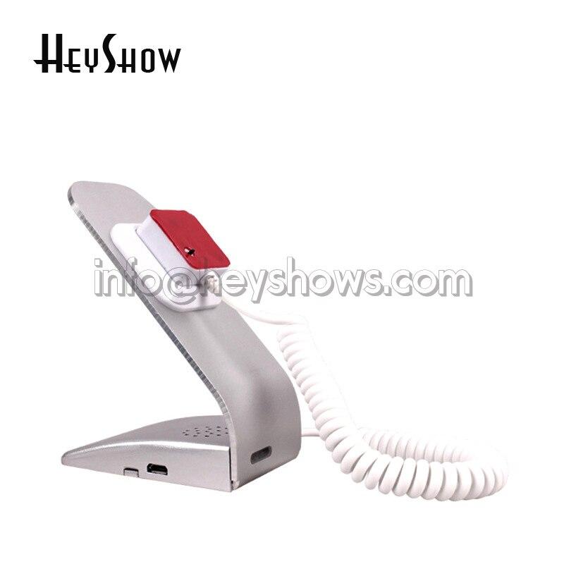 10 STK Simple Metal Mobiltelefon Sikkerhed Display Alarmstativ med - Sikkerhed og beskyttelse - Foto 4