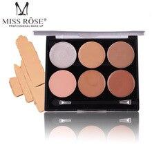 MISS ROSE Concealer 6 Color Black Eyes Acne Concealer Base Cream корректоры beyu hydro miracle concealer 6