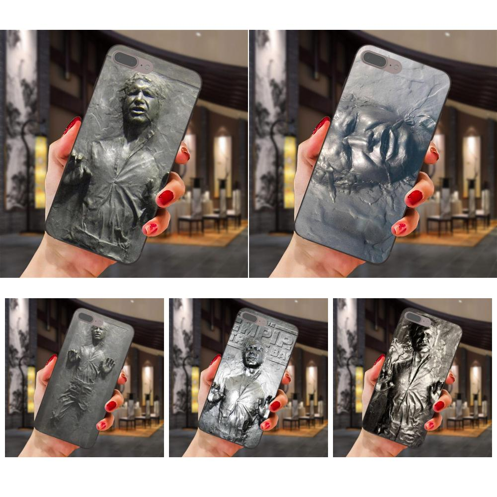 Soft <font><b>Case</b></font> Han Solo Carbonite Star Wars For <font><b>Samsung</b></font> Galaxy Note 4 8 9 G313 S3 S4 S5 S6 S7 S8 S9 S10 Edge Plus Lite I9082 image