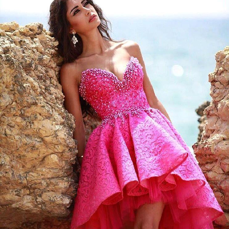 Online Buy Wholesale fuschia party dress from China fuschia party ...