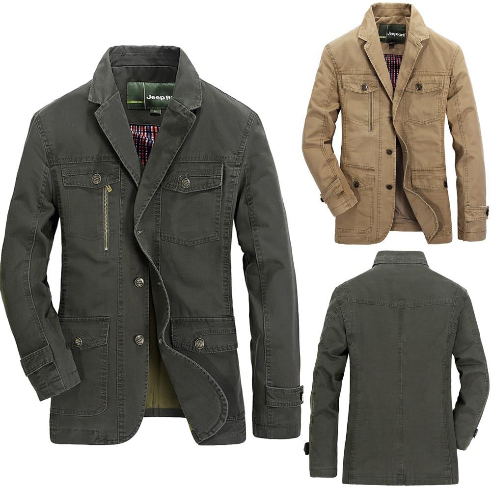 Green Luxe Manteau Mode Longueur Couleurs Multi kaki Longues Costume De Automne Manches Army Poche Designer Nouveau Hiver Moyen Veste Hommes xUqSYpawA
