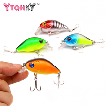 Купить с кэшбэком 1Pcs Crank Fishing Lures 5.4CM 8.4G Floating Isca Artificial Wobbler Lifelike Japan Leurre Crankbait Carp Fishing WQ8078