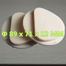 10 Pieces 89x71x12 MM Dental PMMA Blocks CADCAM Milling Amann Girrbach System A1,A2,A3 Color Dental Lab Material PMMA Disc a1 a2 a3 and clear dental pmma resin disc 98 14mm for cad cam dental lab materials with step