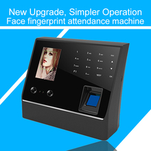 Eseye Biometric Face Recognition Fingerprint Time Attendance System TCP/IP USB Access Control Clock Recorder Employees Device цена