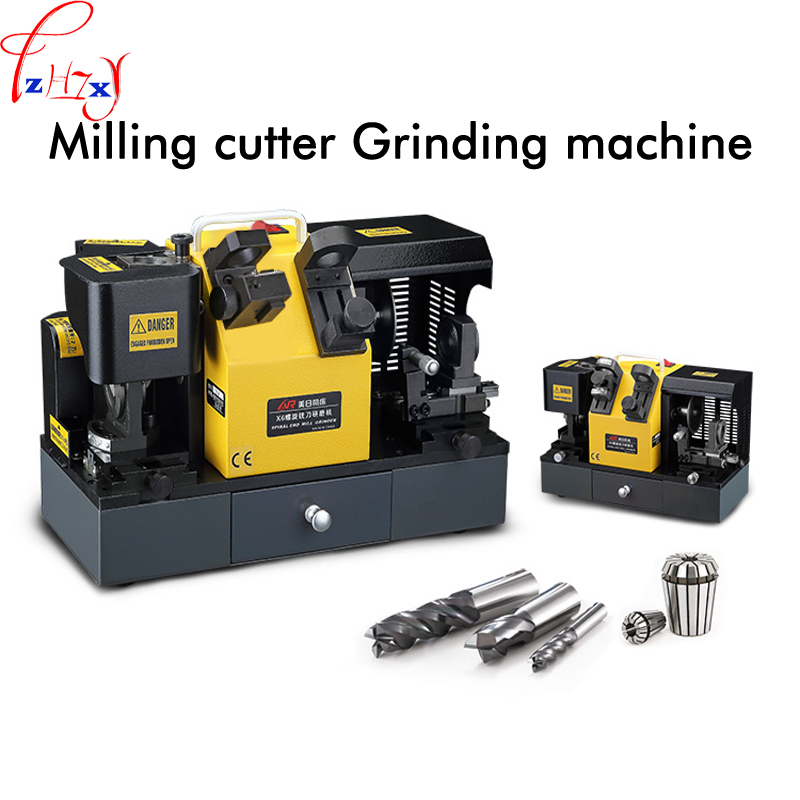 Electric grinder End Mill Grinder Sharpener MR-X6 4-14mm Alloy milling cutter angle grinder machine 220V 1PC Числовое программное управление