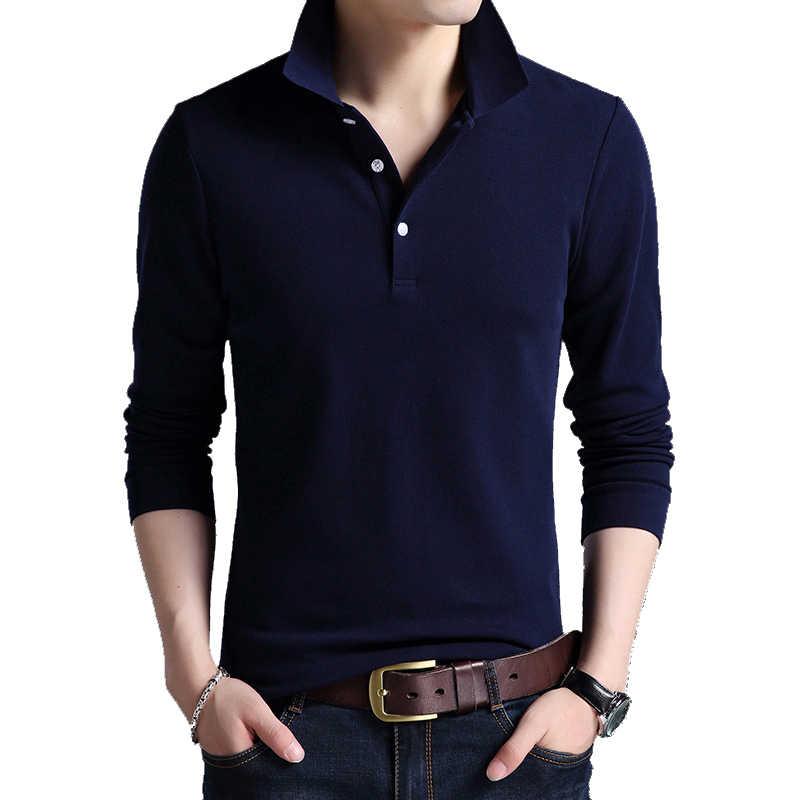 BROWON מזדמן Mens חולצה מותגים הסטודנטיאלי סגנון ארוך שרוול מוצק צבע חולצות כותנה בתוספת גודל Mens 2019 בגדים בגיל העשרה