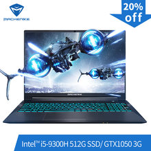 Machenike T58-VA Gaming Laptop (Intel Core I5-9300H + GTX 1050/8GB RAM/512G SSD/ 15.6 '') machenike-Brande Notebook(China)