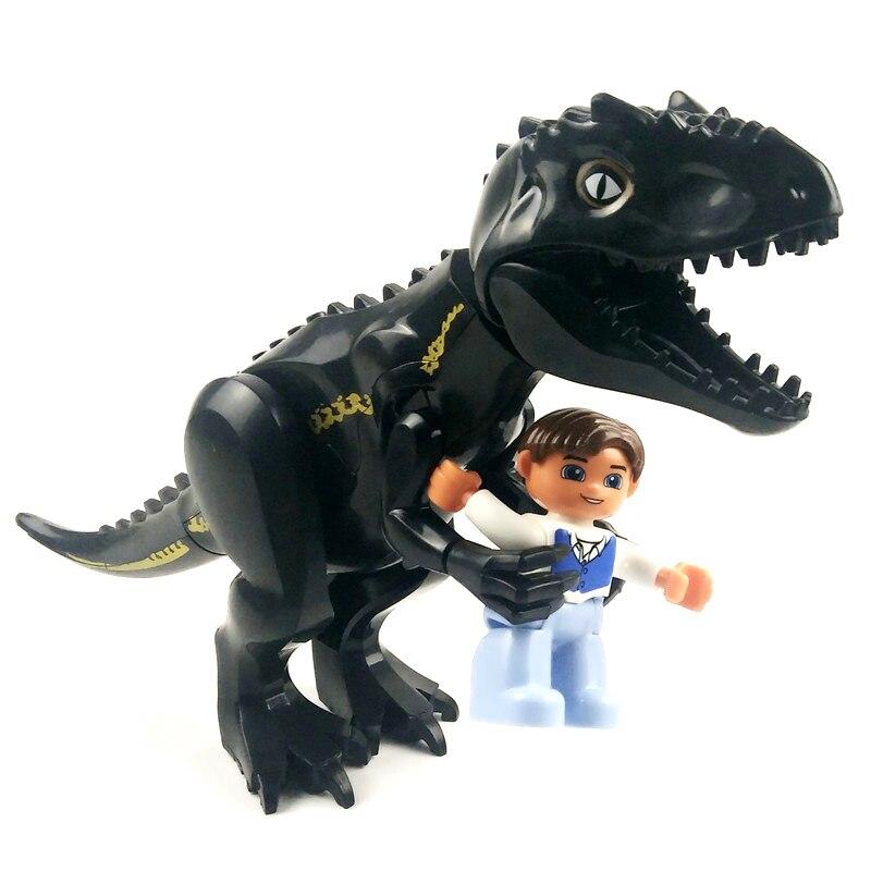 Jurassic Dinosaur World Jurassic Park 2 Figure Tyrannosaurs Rex Building Blocks Compatible With Lego Dinosaur Toys For Children