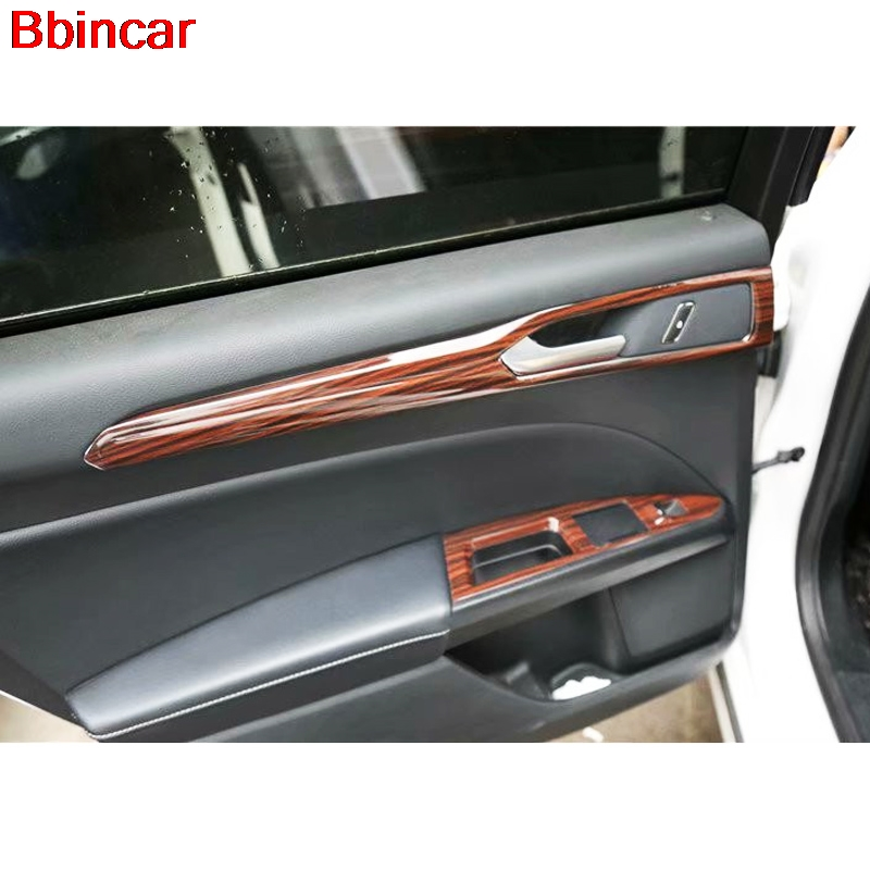 Us 16 28 18 Off Bbincar Abs Wood Paint Car Interior Door Front Rear Window Switch Air Vent Gear Shift Trim Cover For Ford Mondeo 2013 In Interior