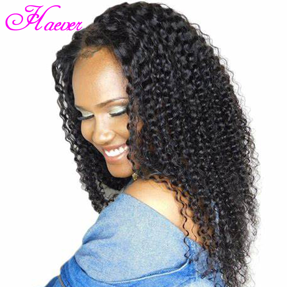 Curly Human Hair Wigs Natural Color Bleached Knots Brazilian Remy Hair Lace Front Human Hair Wigs With Baby Hair Pre-Plucked Wig(China)