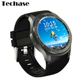 Techase Smart Watch Android Relogios DM368 Smartwatch 8GB 3G WIFI SIM GPS Bluetooth Heart Rate Monitor Watches Relogio Smart