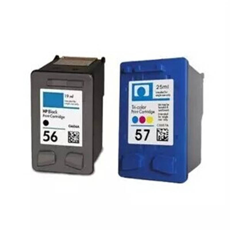 hisaint for hp 56 57 ink cartridge for photosmart 7150 7155 7550 7660 7760 7960 ink jet printer. Black Bedroom Furniture Sets. Home Design Ideas