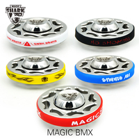 Magic Shark TIME MACHINE Spinner Mini Fidget Finge Spiners Pure Stainless Steel Hand Spinner Metal Focus