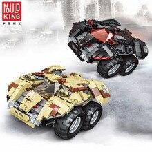 Форма KING Technic RC гоночный автомобиль строительные блоки супергерой Бэтмен скорость чемпионов Playmobil Бэтмобиль Просветленный кирпич