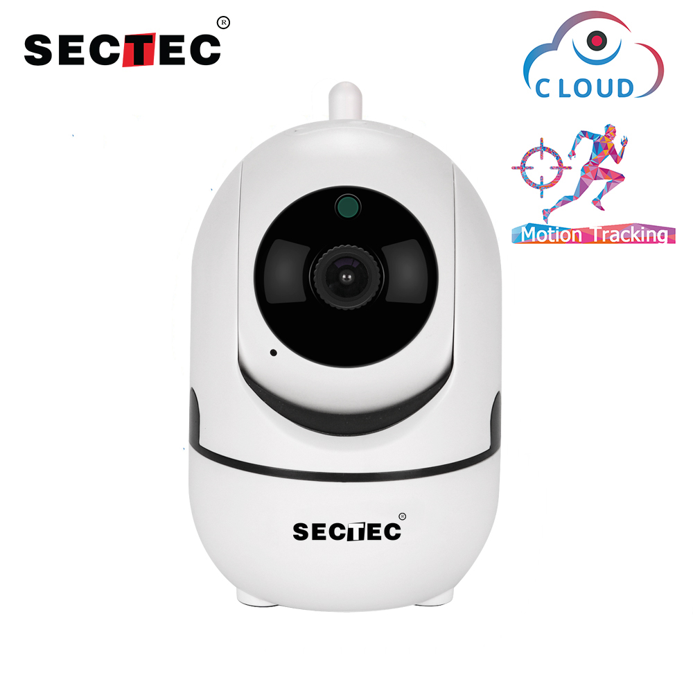 Sectec Wifi Camera HD 1080P Cloud Wireless IP Camera Intelligent Auto Tracking Of Human Home Security Surveillance CCTV Network Sectec Wifi Camera HD 1080P Cloud Wireless IP Camera Intelligent Auto Tracking Of Human Home Security Surveillance CCTV Network