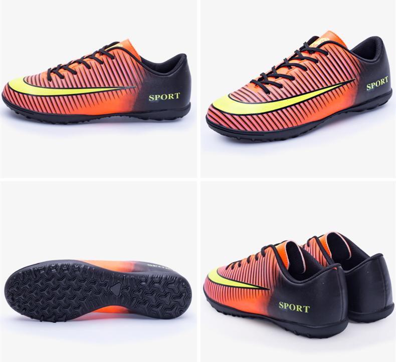 f0a175fc2 Keloch 2017 أحدث الرجال أحذية كرة القدم في pu للماء الرياضة للأولاد ...