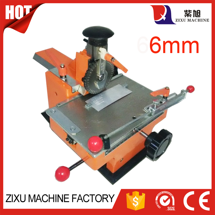 6mm Metal Manual Number And Letter Punch Machine