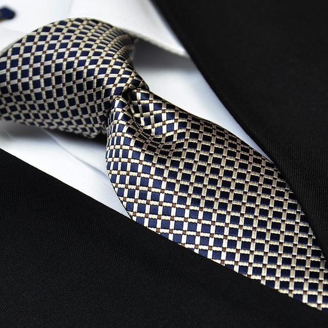 Nueva manera Del Envío Libre ocasional de Corea del hombre distinguido negocio temperamento fino marrón estilo traje corbata 7.5 CM