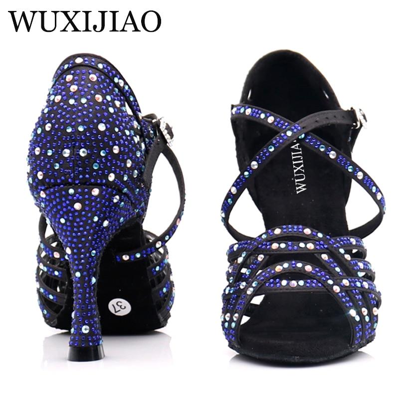 WUXIJIAO Women Ballroom Dance Shoes Salsa Latin Dancing Shoes Square Dance Shoes Samba Tango Waltz Shoes For Women Fashion