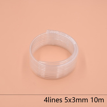 4 Lines eco solvent printer ink tube 5X3MM for Epson Allwin Mimaki Roland Mutoh hose 10M/lot Large supply system