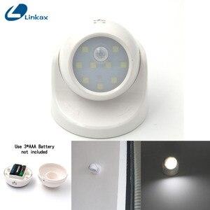 Image 1 - الأمن 9 LED Led محس حركة ليلة الجدار الخفيفة 360 درجة دوران السيارات PIR الأشعة تحت الحمراء للكشف عن مصباح إضاءة ليلية للأطفال