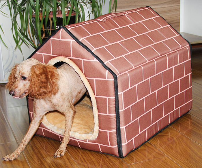 2016 New Product Dog Bed Soft Dog Kennel Dog House For