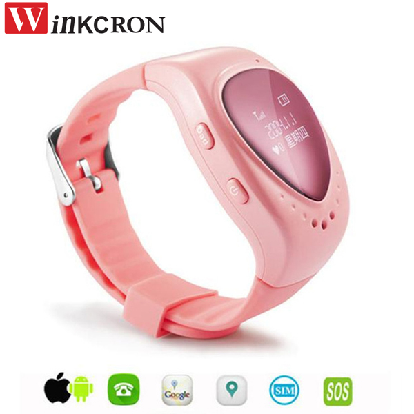 Mini GPS tracker A6 Cheaper for Kids GPS watch tracker children gps bracelet google map sos button free apps gsm gps locator
