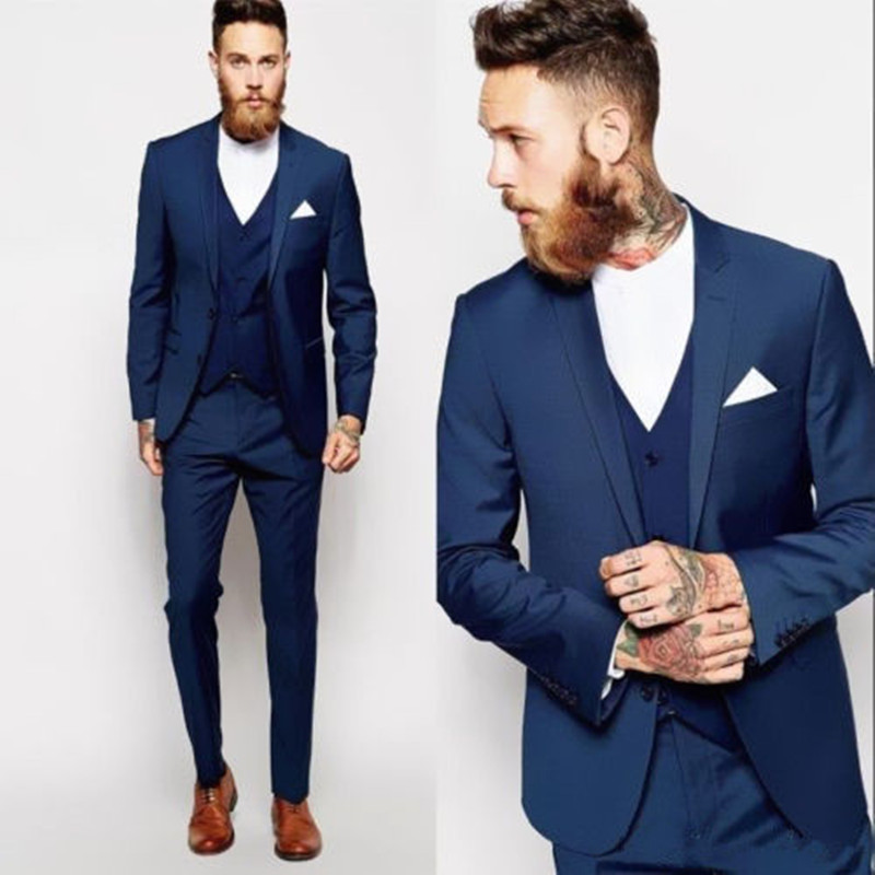 Sute For Formal: Custom Wedding Suits Made Groomsmen Best Man Suit Wedding
