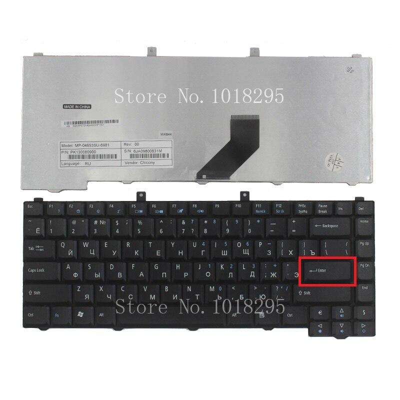 New FOR Acer Aspire 1670 1672 3102 3030 3100 3650 3600 3690 3692 3693 5101 5102 5103 5100 5110 5610 5610Z RU laptop <font><b>keyboard</b></font>