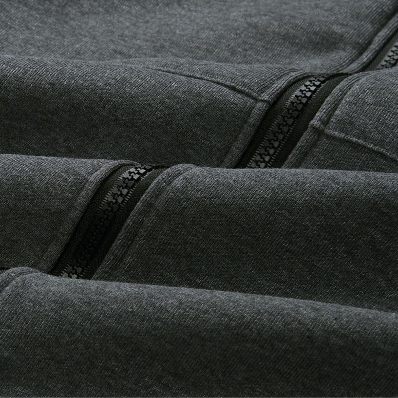 Women Warm Coat Zipper Long Jacket Tops Hoodies Outwear Women Clothes 2