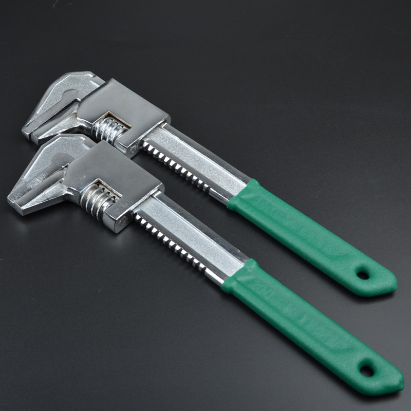 Portable Adjustable Quick Snap and Grip Wrench Universal Wrench Spanner Activities Pipe Clamp Multipurpose Hand Tools Pliers  цены