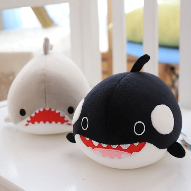 Cute Dolphin, Seals, Walruses, Killer Whales, Whale Sharks Plush Toys, Ocean Alliance  Children Doll Dolls Foam Particles 1
