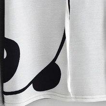 Korean Panda Print Short Hoodie