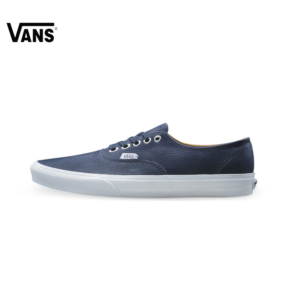 купить Original Vans Men's Skateboarding Shoes Vans Sports Shoes Men Sneakers Leather Low Top Outdoor по цене 5775.81 рублей