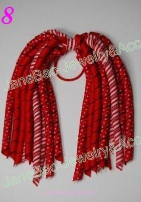 100 шт. коркер конский хвост держатели смешать сотни цветов коркер заколки для волос