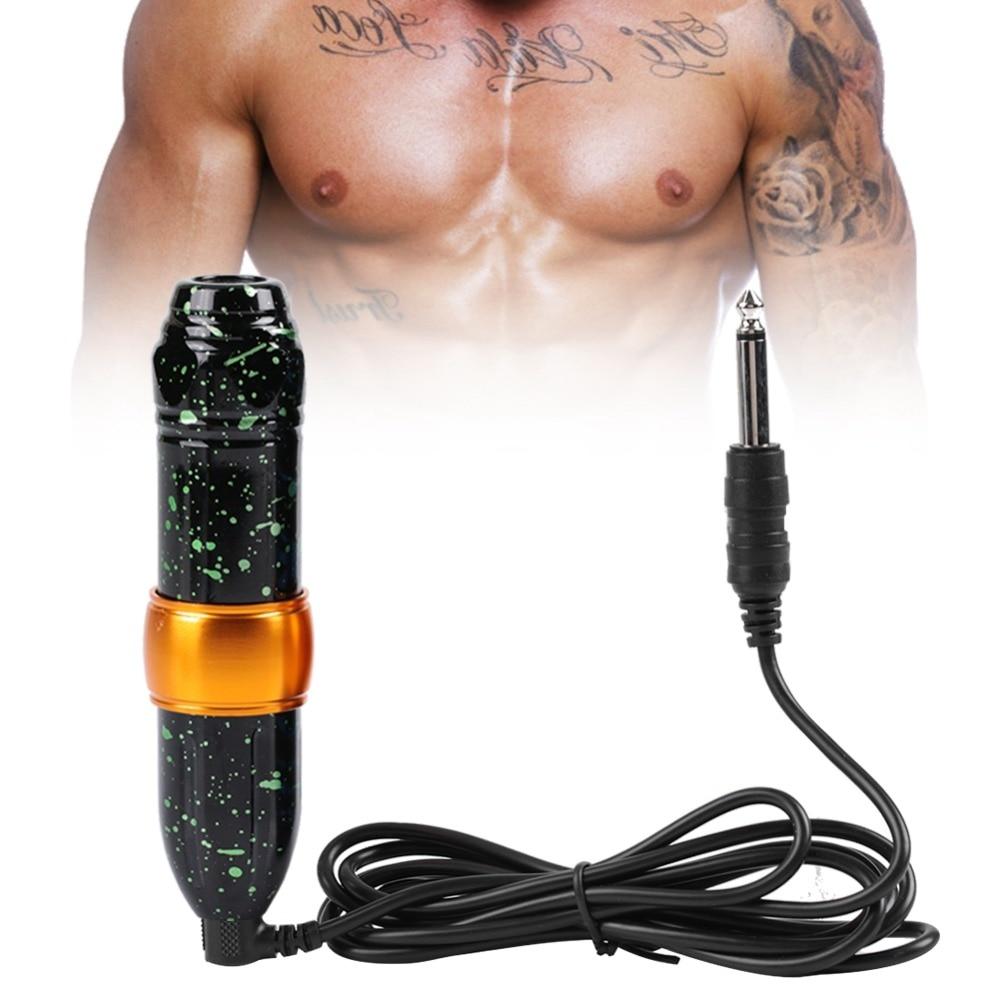 New Rocket Motor Tattoo Pen Motor Lip Body Rotary Tattoo Machine Eyebrows Makeup Microblading Pen Coloring