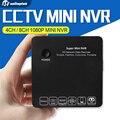 Super Mini 4CH NVR 8CH PARA Full HD Câmera Gravador de Vídeo em Rede IP 1080 P/960 P/720 P NVR Suporte Onvif HDMI E-SATA USB