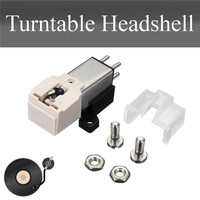 Turntable Cartridge Installation Kit With Stylus Needles Metal For Technica 3600L Universally Fits MM LP Turntable