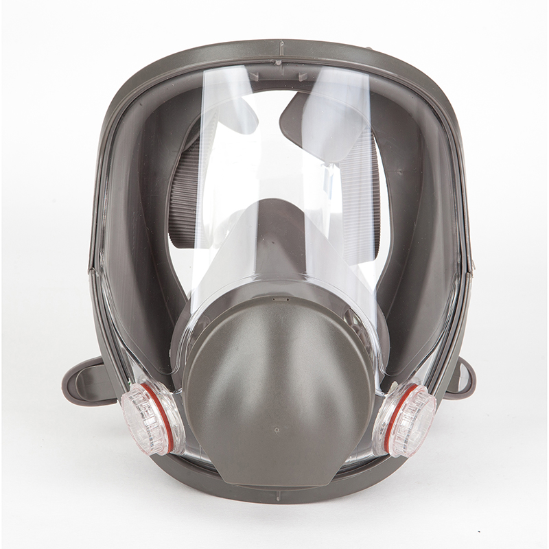 6800 Medium Size Full Face Gas Mask Facepiece Safety Mask Respirator Painting Spraying For Painting Chemical Laboratory Medical